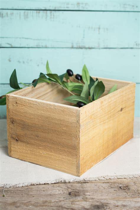 wood planter box handmade wood planter boxes 10 x 7 5