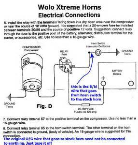 how to install a new car horn wiring diagram for car air horns wirdig readingrat net at