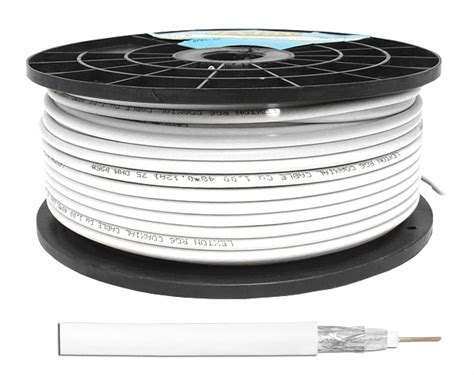 Kabel Kyomitsu Rg6 P kabel koncentryczny rg6 1 02cu 48x0 12 rolka 100m