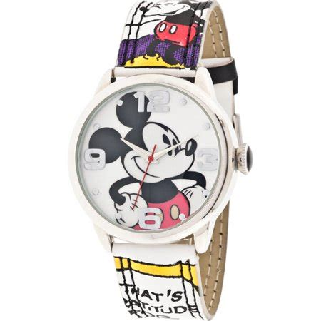 S Watches Disney by Disney S Mickey Mouse Comic Walmart