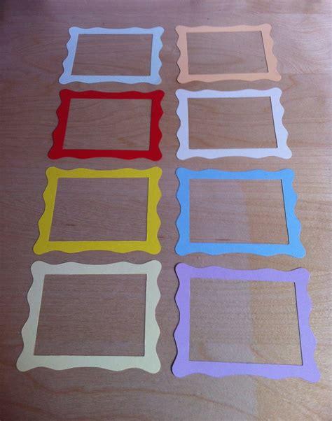 cornici di cartone per foto cornici in cartoncino fustellato frame jelly per la
