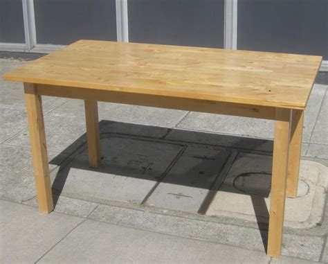 butcher block kitchen table uhuru furniture collectibles sold butcher block