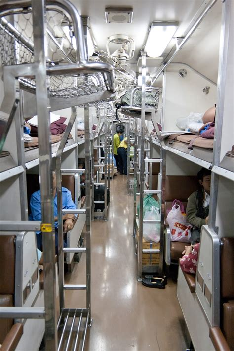 file thailand 2nd class sleeper car interior jpg