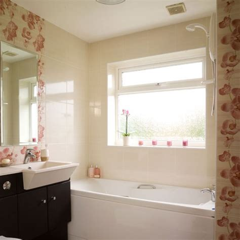 bathroom makeovers uk be inspired by this stylish floral bathroom makeover