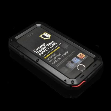 Shockproof Army Series Pc Free Tempered Glass Iphone 6 Plus 6 element iphone cases reviews shopping element
