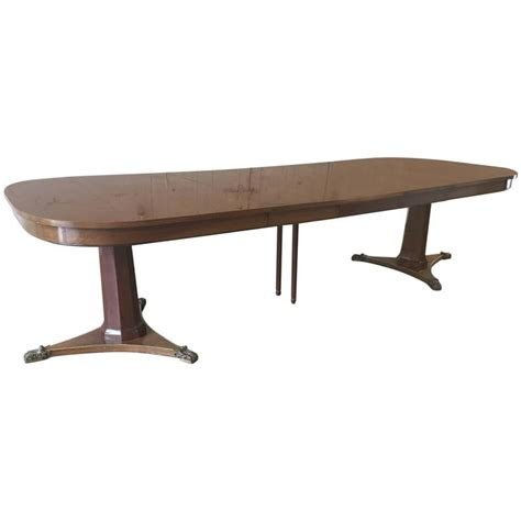 baker dining room table large dining room table by baker for sale at 1stdibs