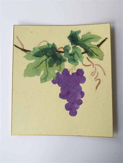 How To Make Paper Grapes - how to make paper grapes 28 images i food felt grape