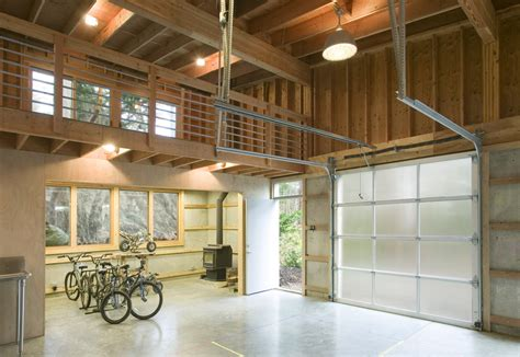 loft garage 20 industrial garage designs to get inspired