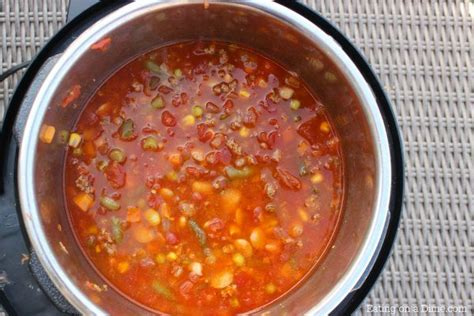 instant pot vegetarian soup recipes instant pot beef vegetable soup recipe on a dime