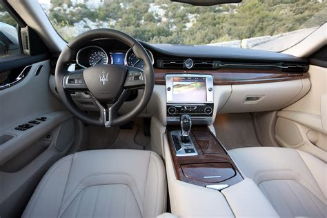 maserati quattro interior all new 2013 maserati quattroporte photos and details