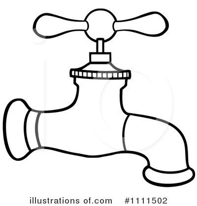 Faucet Clipart #1111502   Illustration by Hit Toon