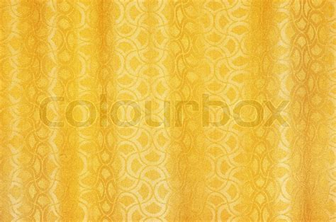 golden yellow curtains golden colored curtains textured background with ornaments
