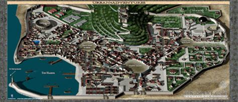 great city maps 0241238986 the great city color map folio 0one games urban adventures drivethrurpg com