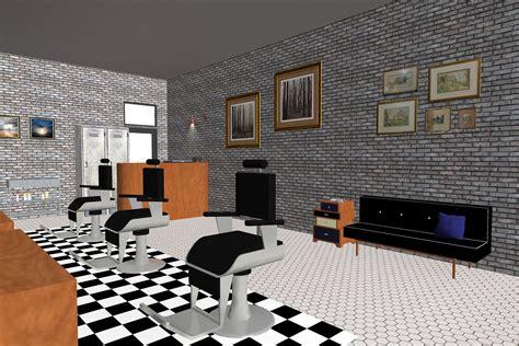design interior barbershop interior design barber shop theme concept co b by design