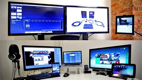 ultimate tech office tour gaming setup desk setup 2013