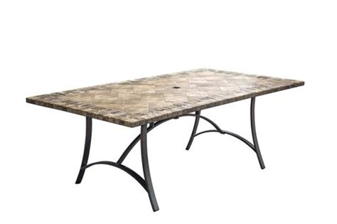 Menards Patio Table Fresno 42 Quot X 80 Quot Tile Table At Menards 174