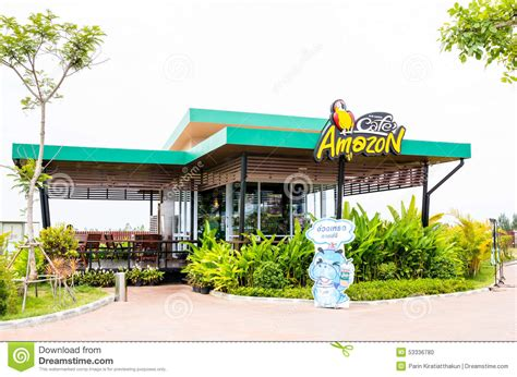 amazon thailand cafe amazon coffee shop editorial image image 53336780