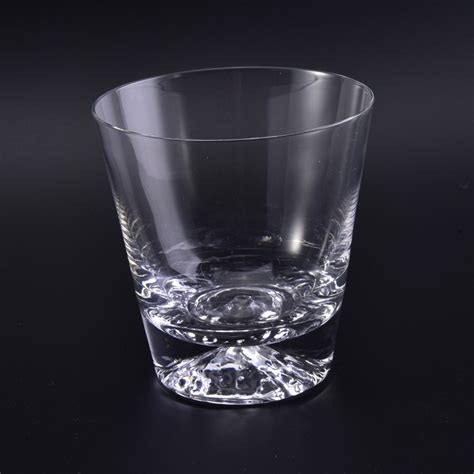 Candle Glassware Blown Clear Votive Glass Candle Cup Glass Candle