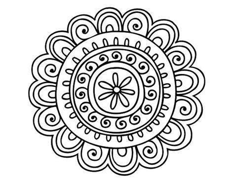 mandalas faciles dibujos pinterest mandalas mejores 59 im 225 genes de dibujos de mandalas para colorear