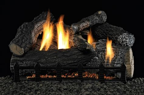 Ventless Gas Logs Empire 24 Quot Wildwood Refractory Ventless Propane Gas