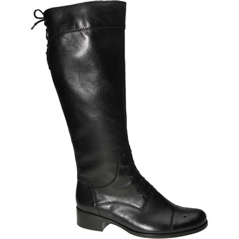 black leather boots gabor salo black leather boots gabor from gabor shoes uk