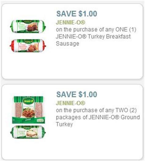 printable jennie o ground turkey coupons jennie o turkey coupons frugal living nw