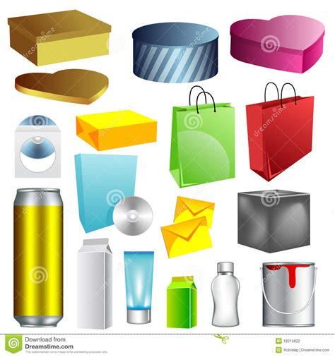 blank packaging templates blank packaging templates stock photography image 18215822