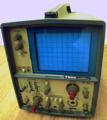 capacitor test scope mercury cap tester and tektronix scope t922