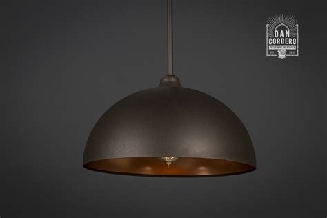 pendant bulb lighting dome pendant light fixture bronze gold pendant light