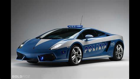 Lamborghini Gallardo Polizia Lamborghini Gallardo Lp560 4 Polizia