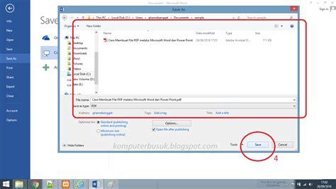 membuat link word dan excel cara membuat file pdf melalui microsoft office word excel