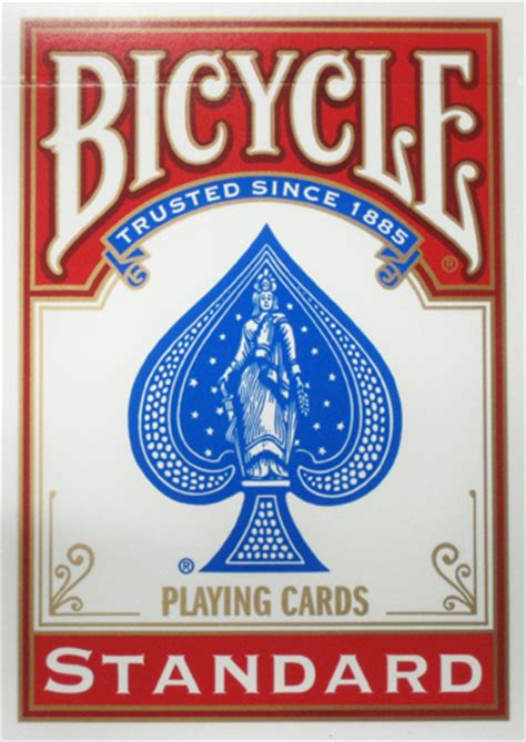 United States Card Company Bicycle Cards Box Template by Bicycle Deck
