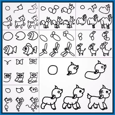 imagenes de flores para dibujar faciles paso a paso creativos dibujos faciles paso a paso para ni 241 os