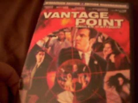 Vantage Point Mba Reviews by Vantage Point Dvd Review Unboxing
