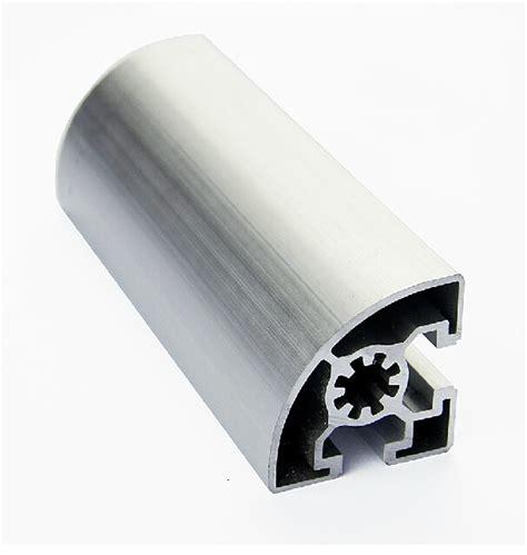 Aluminium Profile Extruder 3060 6000 Mm 6 Meter 4545 er aluminum profile extrusion 45 series 1 4 circle aluminum length 1 meter in door
