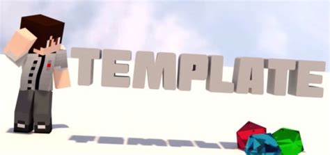 blender minecraft intro template top 10 free intro templates after effects no plugins