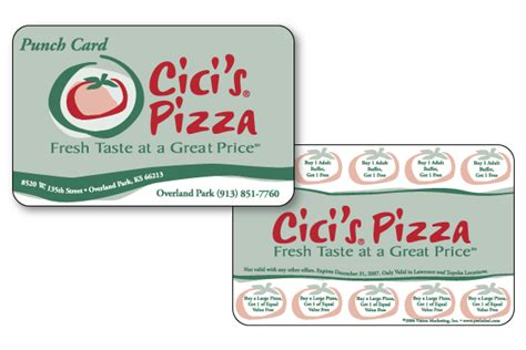pizza punch card template 16 exles of loyalty punch cards