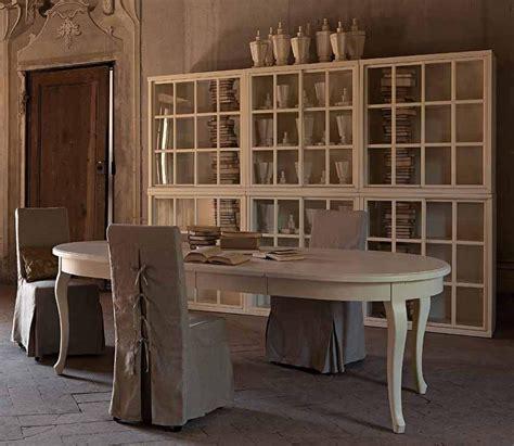 tavoli ovali bianchi tavolo provenzale ovale allungabile legno bianco 110x160