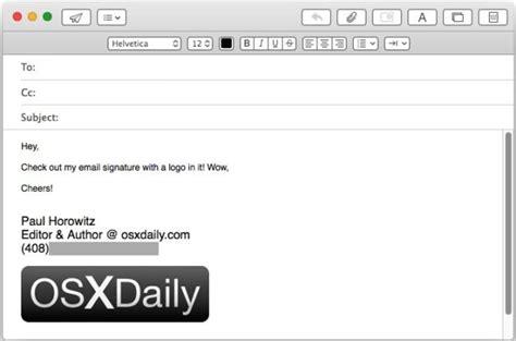 Modèle Signature Mail