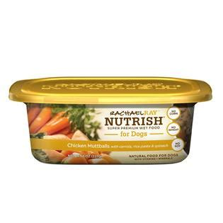 rachael nutrish food review rachael nutrish food chicken muttballs with pasta 8 oz tub