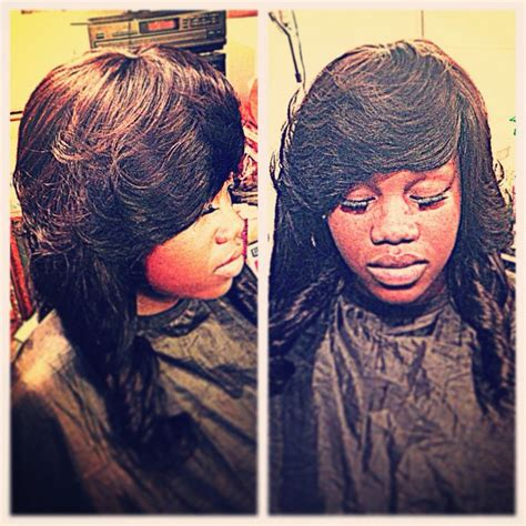 full sew in weave with no hair out full sew in no hair left out love of designs