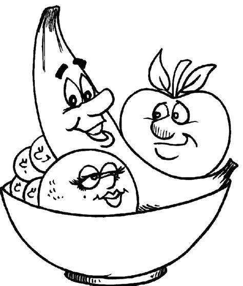 dibujos para colorear de frutas y verduras free lechuga para colorear coloring pages