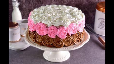como decorar pasteles con rosas tutorial para decorar un pastel con flores de bet 250 n