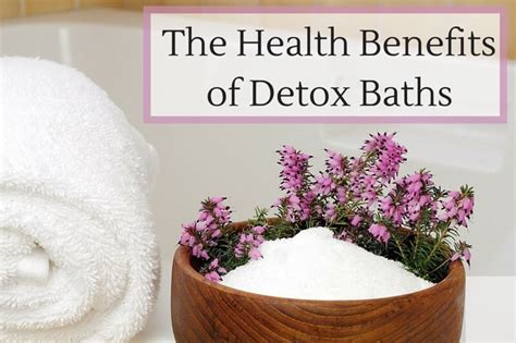 Wellness Detox Bath by The Health Benefits Of Epsom Salt Detox Baths By Sunlighten
