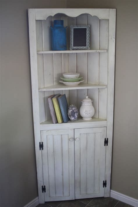 Distressed Kitchen Cabinets Pictures Corner Dining Room Hutch Storage Ideas Homesfeed
