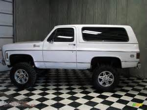 1980 chevrolet blazer k5 4x4 in white photo 4 142150