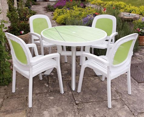 White Plastic Patio Table Cheap White Plastic Garden Table And Chairs Chairs Seating