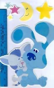 Blues clues and periwinkle wall stickers 27 decals room decor stars