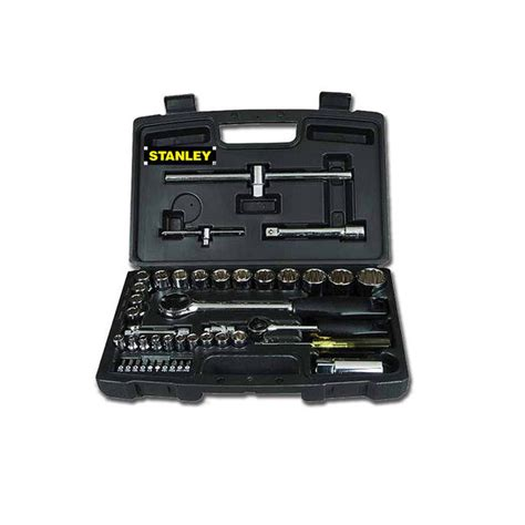 cassetta attrezzi stanley stanley cassetta set kit attrezzi bussole 50pz misura 1 2
