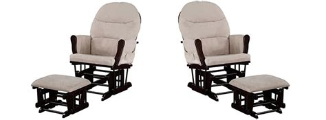 naomi home brisbane glider ottoman set white dark gray glider and ottoman set pink glider and ottoman set rocker